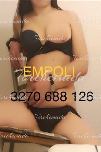 Calda e porcella Escort Girl massaggi Empoli